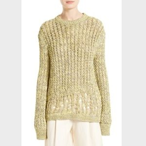 JOSEPH Fatigue Deconstructed Cable Knit Sweater